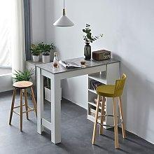 Cherry Tree Furniture BARUM White Bar Table with