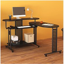 Cherry Tree Furniture Expandable Computer Desk