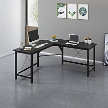 Cherry Tree Furniture Large L-Shaped Corner Desk
