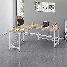 Cherry Tree Furniture Large L-Shaped Corner Desk