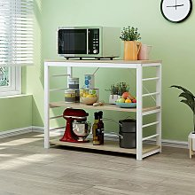 Cherry Tree Furniture Microwave Rack Shelf,