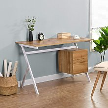 Cherry Tree Furniture SION Desk with Drawer &