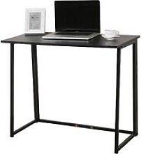 CherryTree Furniture Compact Folding Computer Desk