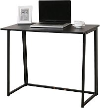 CherryTree Furniture Compact Folding Computer Desk