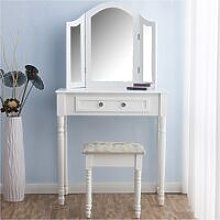 CherryTree Furniture Dressing Table 3 Way Mirrors