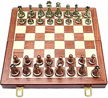 Chess Set Fold Away Board Quality Handmade Wooden