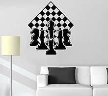 Chess Wall Decals Chess Pieces Chess Board Vinyl