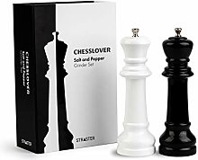 Chesslover Salt and Pepper Grinder Set – Manual