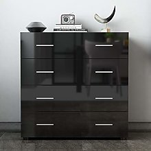 Chest Of 4 Drawers Cabinet Storage Unite Bedside