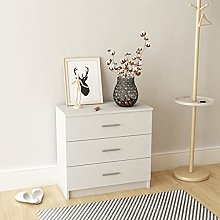 Chest of Drawers Chipboard,Nightstand with 3