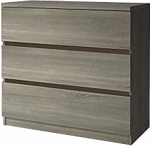 Chest of Drawers Storage Cabinet with 3 Drawers
