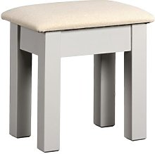 Chester Dove Grey Dressing Table Stool
