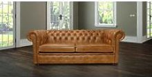 Chester Sofa 3 Seater Settee Old English Tan