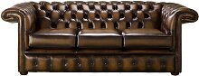 Chesterfield 1857 Hockey Stick 3 Seater Antique