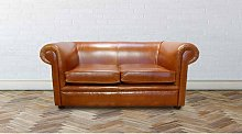Chesterfield 1930 2 Seater Settee Old English