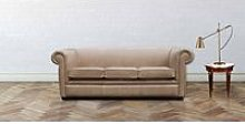 Chesterfield 1930 3 Seater Settee Old English