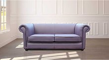 Chesterfield 1930's 2.5 Seater Settee Amethyst