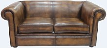 Chesterfield 1930's 2 Seater Settee Antique