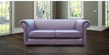 Chesterfield 1930's 3 Seater Settee Amethyst