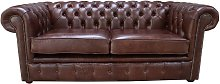 Chesterfield 2.5 Seater Settee Old English Hazel