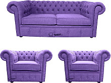 Chesterfield 2 Seater + 2 x Club chairs Verity