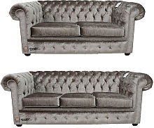 Chesterfield 2 Seater + 3 Seater Sofa Boutique