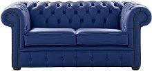 Chesterfield 2 Seater Deep Ultramarine Blue