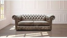 Chesterfield 2 Seater Settee Old English Alga