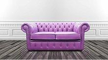 Chesterfield 2 Seater Settee Wineberry Purple