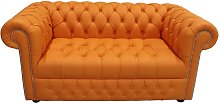 Chesterfield 2 Seater Sofa Settee Buttoned Seat