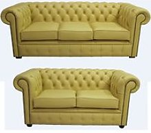 Chesterfield 3 Seater + 2 Seater Shelly Deluca