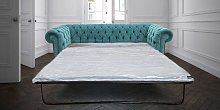 Chesterfield 3 Seater Settee Pimlico Teal Blue