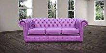 Chesterfield 3 Seater Settee Wineberry Purple