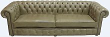 Chesterfield 4 Seater Settee Sofa Old English