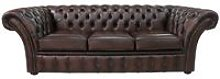 Chesterfield Balmoral 3 Seater Sofa Settee Antique