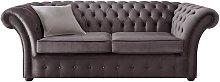 Chesterfield Balmoral Velvet Fabric Sofa Malta