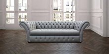 Chesterfield Balston 3 Seater Sofa Settee Buttoned