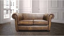 Chesterfield Berkeley 2 Seater Settee Antique Gold