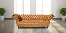 Chesterfield Blenheim 3 Seater Sofa Settee Old