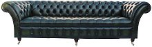 Chesterfield Blenheim 4 Seater Sofa Buttoned Seat