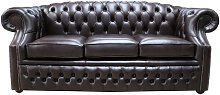 Chesterfield Buckingham 3 Seater Old English Smoke