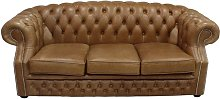 Chesterfield Buckingham 3 Seater Old English Tan
