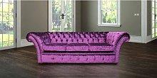 Chesterfield Cambridge Purple 3 Seater Sofa Settee