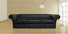 Chesterfield Chelsea 4 Seater Sofa Settee Old