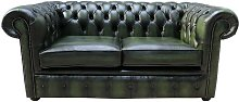 Chesterfield Classic Tufted Buttoned 2 Seater
