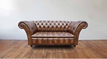 Chesterfield Cliveden 2 Seater Sofa Settee Antique