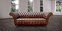 Chesterfield Cliveden 3 Seater Sofa Settee Button