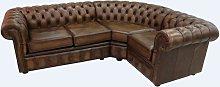 Chesterfield Corner Sofa 2 Seater + Corner + 1