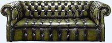 Chesterfield Darcy 3 Seater Antique Olive Green