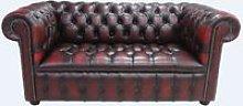 Chesterfield Edwardian 2 Seater Settee Sofa
